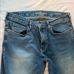 Calvin Klein Jeans slim boyfriend size 12